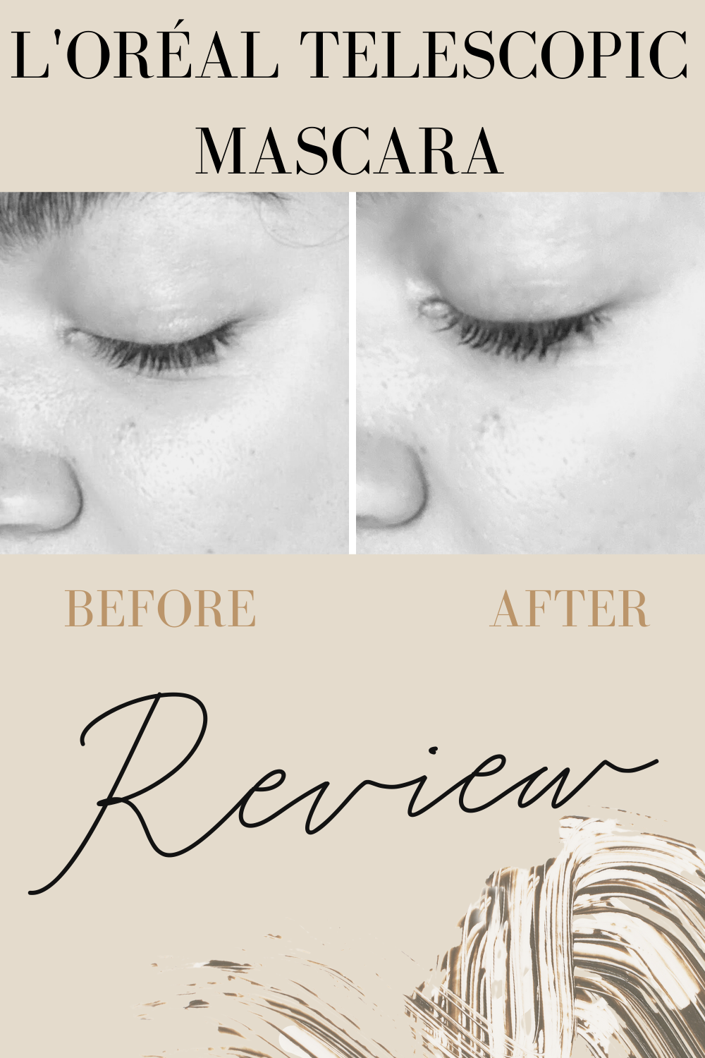 loreal telescopic mascara review before and after