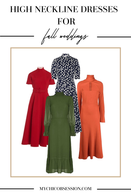 Neckline dresses
