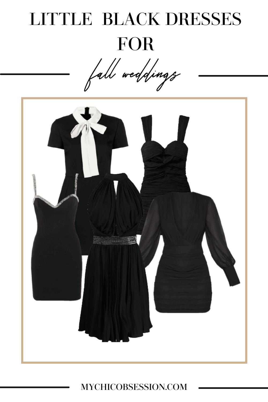 Little black dressses for fall