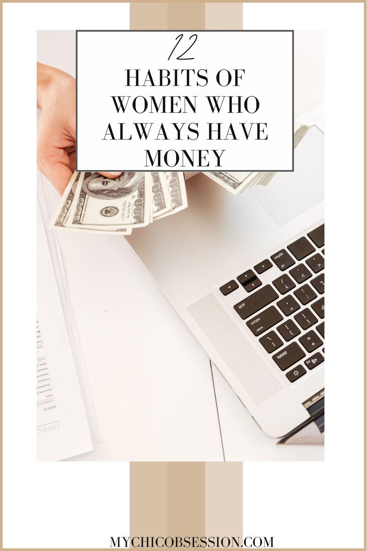 habits of women who always have money