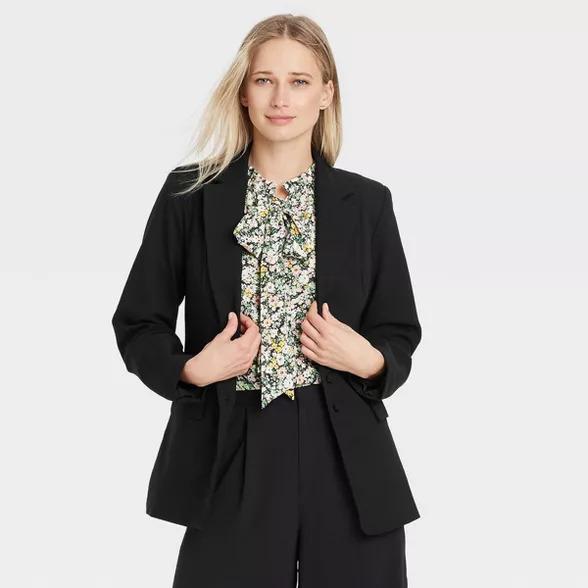 Who what wear women's black blazer