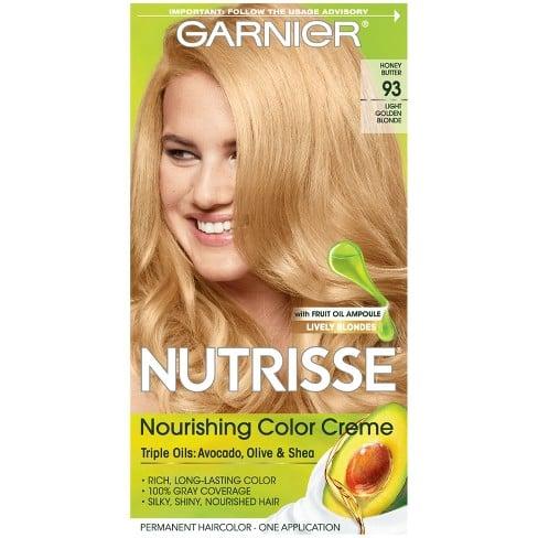 Garnier Nutrisse Nourishing Permanent Hair Color Creme - 93 Light Golden Blonde
