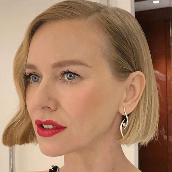 Naomi Watts short blonde hair
