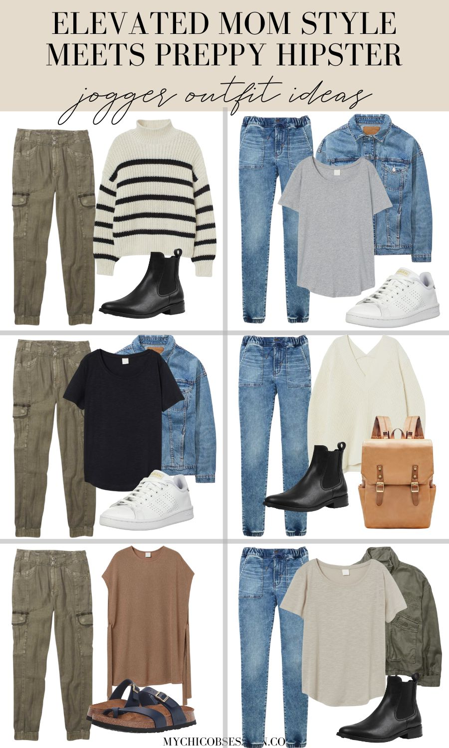 elevated mom style preppy hipster