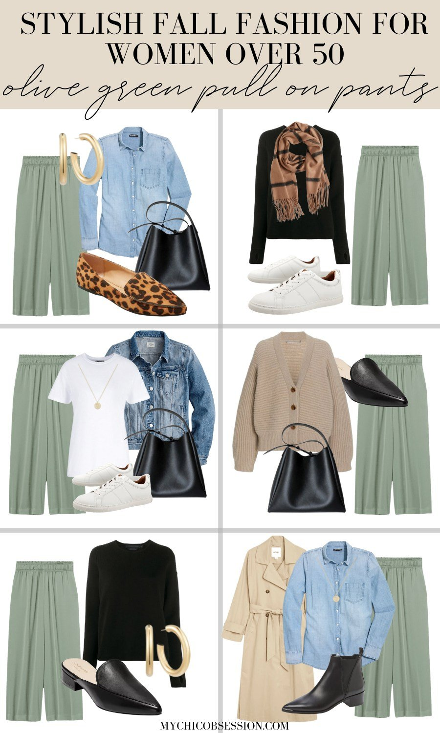 fall fashion outfit ideas women over 50