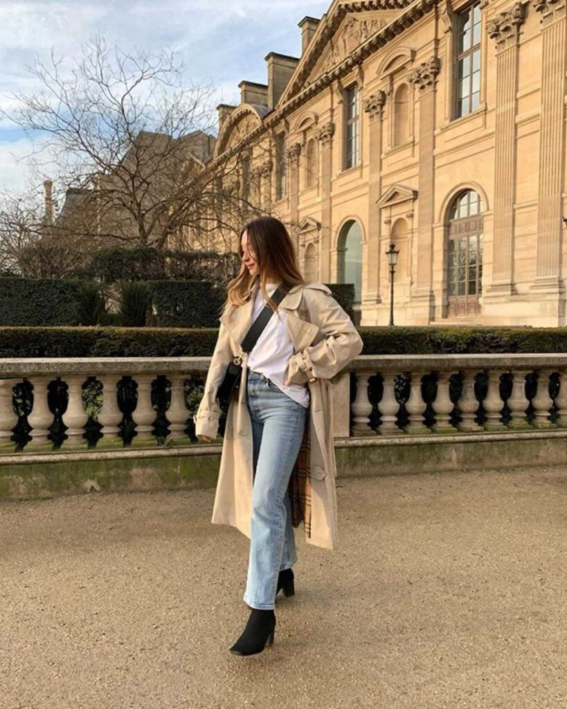 ankle boots in a french capsule wardrobe