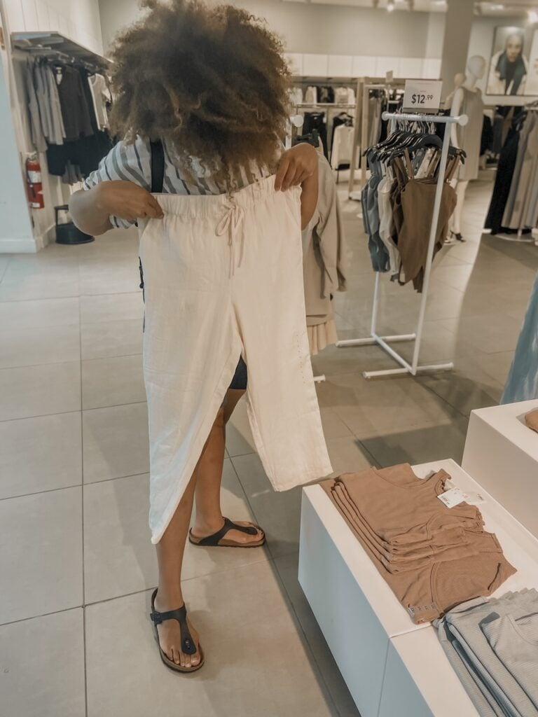 shopping trip to build a wardrobe 2
