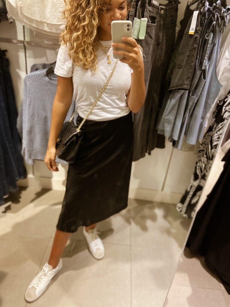 shopping trip to build a wardrobe