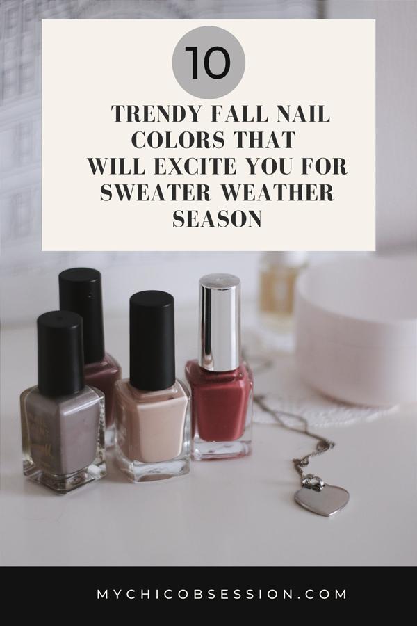 2021 fall nail colors