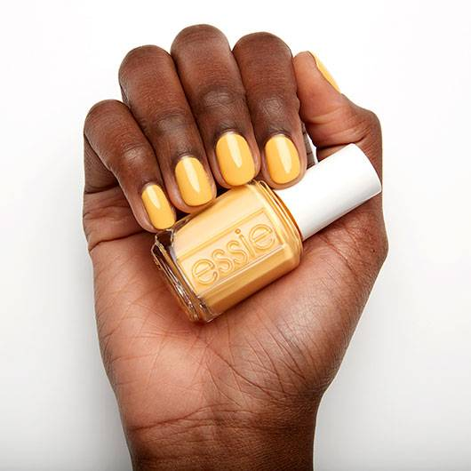 Essie check you baggage nail polish
