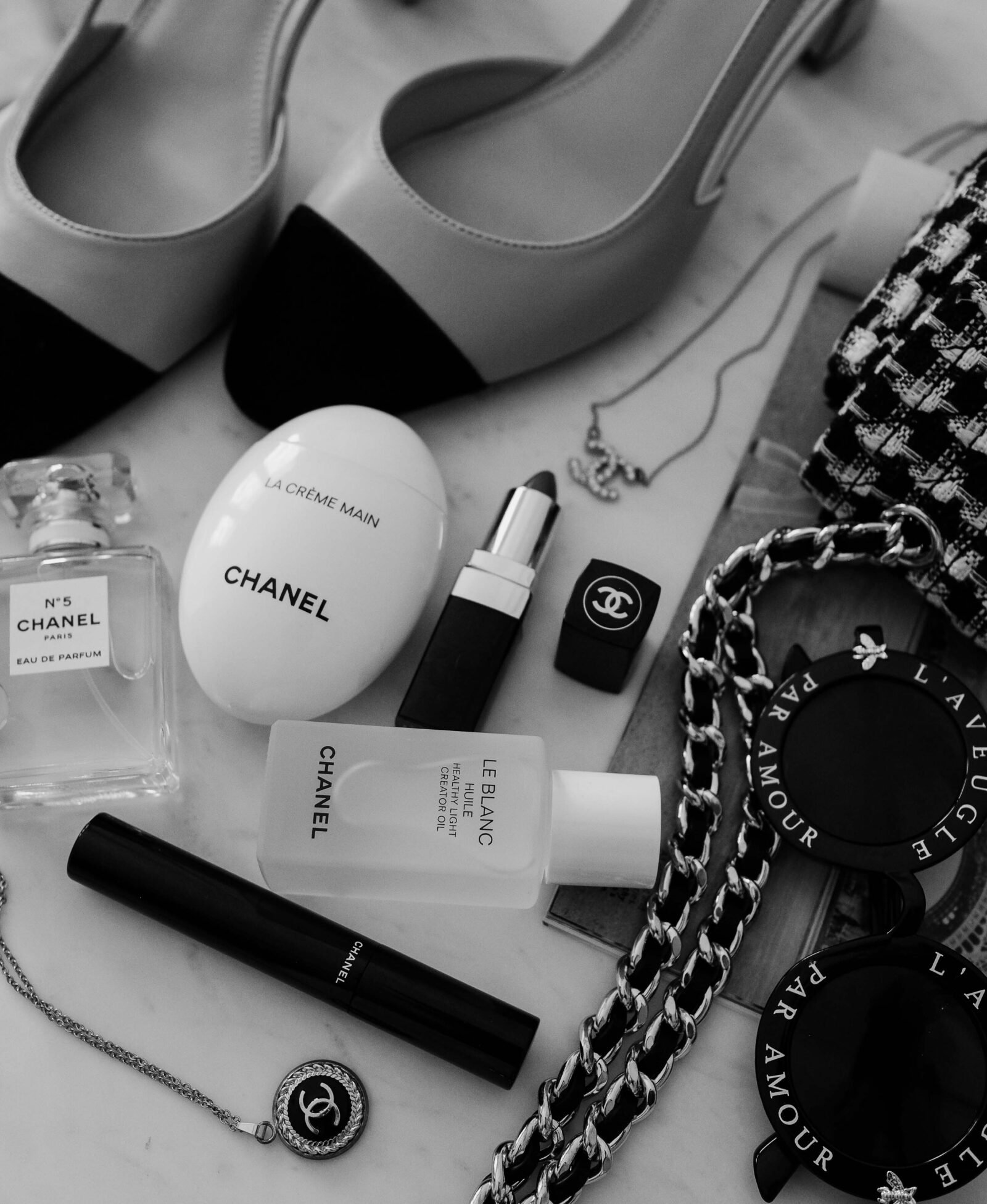 chanel skincare reviews beauty product flatlay
