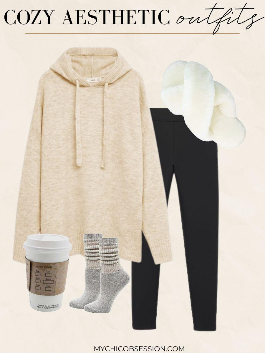 cozy aesthetic fashion