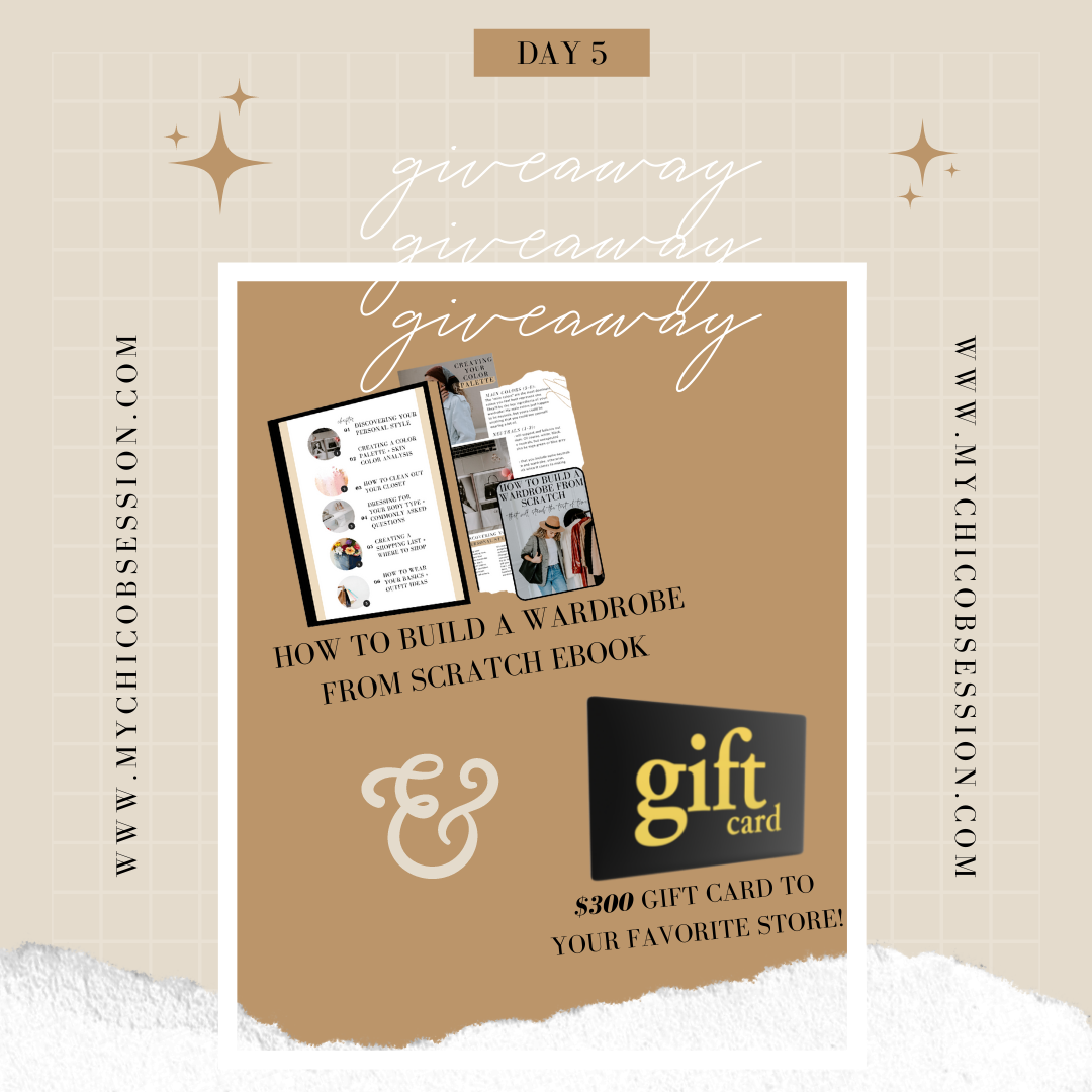giveaway prize day 5
