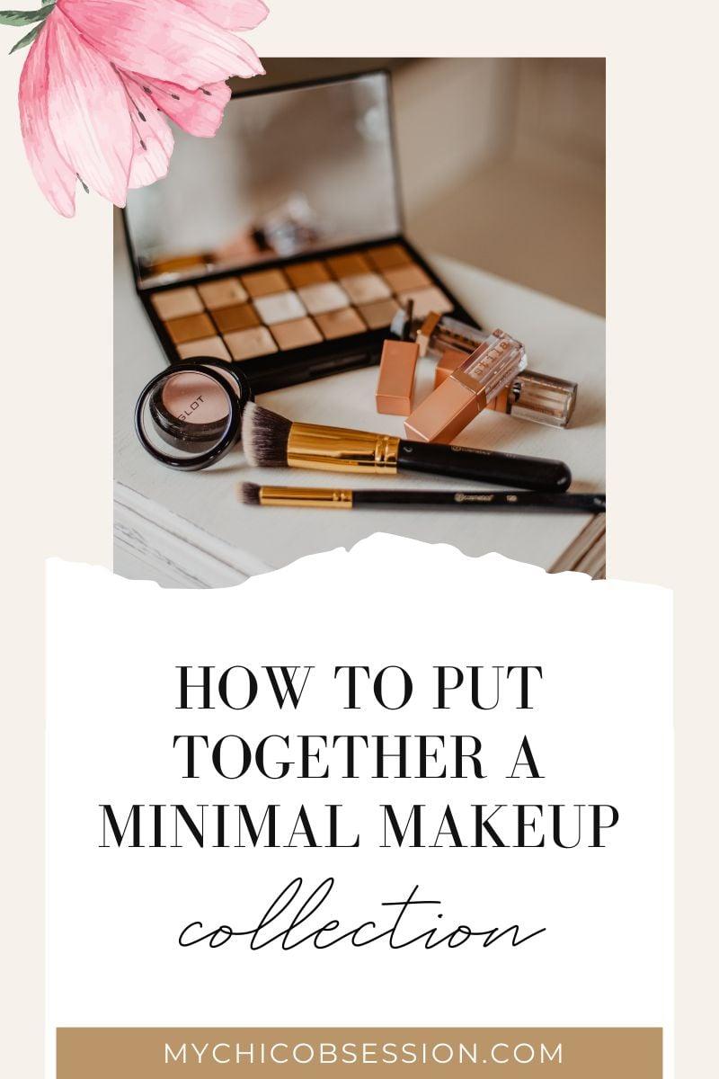 minimal makeup collection