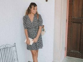 how to wear a wrap dress like a french girl